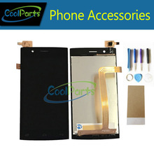 High Quality Black color For Fly FS451 LCD Screen Display And Touch Screen Replacement with Tools 1PC/Lot