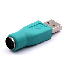 High Quality 1pcs Portable USB Male To for PS2 Female Adapter Converter for Computer PC Keyboard Mouse