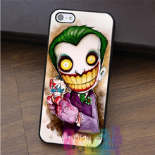 joker old school tattoo 2 fashion cell phone case for iphone 4 4s 5 5s 5c SE 6 6s 6 plus 6s plus 7 7 plus #EF278