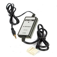 Brand New 3.5mm 12V DC Car CD MP3 USB Interface Adapter Audio Music AUX-in For Honda for Accord for Civic/CRV