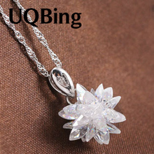 Free Shipping New Arrivals 925 Sterling Silver Pendants Jewelry Crystal Pendant Colgante Pingente