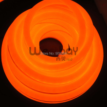 Mini DC12V Orange led neon flex, High quality neon flex light for window shop,bar, KTV, home lighting.(China)