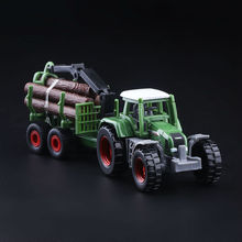 High Simulation Exquisite Diecasts&Toy Vehicles: Good Car Styling Fendt 926 Tractor Wood Trailers 1:55 Alloy Diecast Truck Model