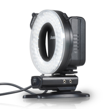 Aputure HN100 CRI 95+ LED Ring DSLR Camera Flash Light Speedlight For Nikon D800 D600 D610 D7100 D90 D7200 D610 D5200 D750 D810(China)