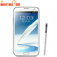 "Original Samsung Galaxy Note II 2 N7100 Android Quad Core phone 5.5"" 2GB RAM 16GB ROM 3G NFC Refurbished"