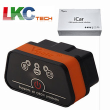Best Quality Vgate iCar2 Bluetooth With 6 Colors Available For Android Only ELM327 Bluetooth Auto OBDII Vgate iCar 2 Bluetooth
