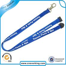100pcs/lot 2016 high quality lanyard with safety hook for office,school,supermarket free shipping(China)