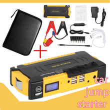 Portable Car Vehicle Jump Starter Charger mutifunction Mobile Device Laptop Auto Engine Emergency Battery Pack(China)