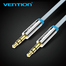Vention 3.5mm Jack Audio Cable Male to Male Flat Jack 3.5 mm Aux Cable for iphone Car MP3/4 Headphone Beats Aux Cord 1m 2m 3m(China)