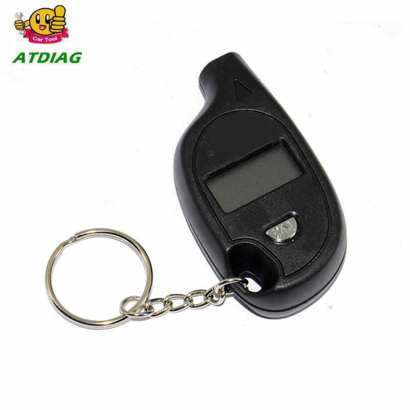Factory price Mini LCD Digital Tire Tyre Keychain Air Pressure Gauge For Car Auto Motorcycle CNP