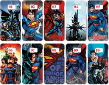 Lot Superman Painting plastic Hard Cover For Samsung Galaxy S2 S3 S4 S5 Mini S6 S7 Edge Plus Note 2 3 4 5 Mobile Cell phone Case(China)