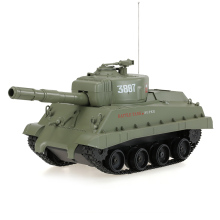 NO.3887 27MHz 1:30 Fire Ball Bullet Cannonball Shooting RC Battle Tank