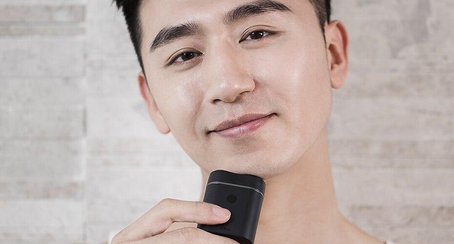 Xiaomi ZHIBAI Mini Electric Shaver Washing Razor Japan Steel German Technical Moto Waterproof Rechargeable WetDry Shaving IPX7-88