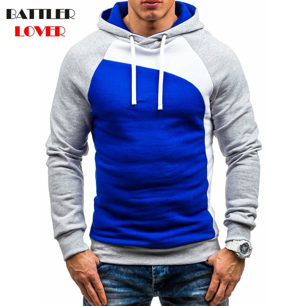 Pullovers Hoodies Men Autumn Fleece Hooded Hoodies Mens Patchwork Sweatshirts Hip Hops Males Casual Brand Clothing Hoody Jackets