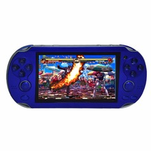Handheld Game Console 4.3 Inch Screen Portable MP4 Player MP5 Video Game Player with Camera E-Book FM Real 8GB For PSV Game