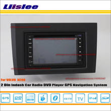 Liislee For VOLVO XC90 XC 90 2002~2013 Radio CD DVD Player GPS Nav Navi Navigation System Double Din Car Audio Installation Set(China)