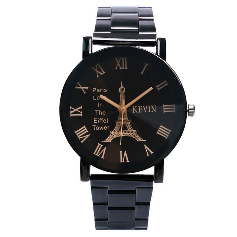 Vintage Paris Eiffel Tower Dial Wrist Watch Women Lady Girl Quartz Watches Gift for Girlfriend Wristwatch W17110<br><br>Aliexpress