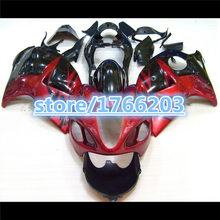 Hot sales For Hayabsa GSXR 1300 96 97 98 99 00 01 02 03 04 05 06 07 GSX-R1300 Red Fairing BBF(China)