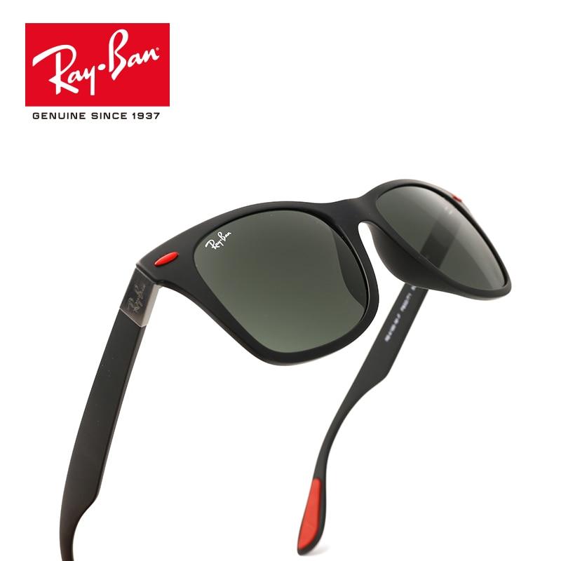 a7814aa137 RayBan Men s Wayfarer Liteforce Polarized Square Sunglasses  RB4195MF-F602 H2