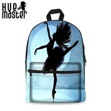 Women Canvas Casual Travel Backpack Can Store 14 Inch Laptop Backpacks School Bags For Teenager Girls Dancer Escolar Mochila(China)