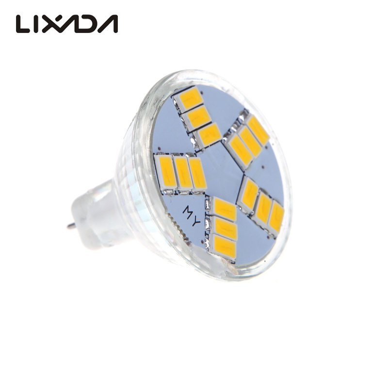 15LEDs Ultra bright Light 7W MR11 GU4 600LM high intensity LED Bulb Lamp White/Warm White Light with 5630SMD(China)