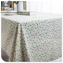 2016 New Rural Rustic Linen Tablecloth Household Flower Printed Retro Table cloth Table cover Tafelkleed cheap tablecloths