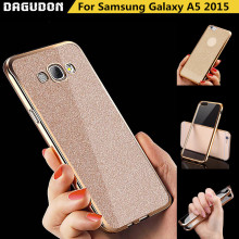 Luxury Cases For Samsung Galaxy A5 Case Bling Soft Silicone Cover for Samsung Galaxy A5 2015 Phone Case A500F