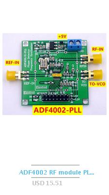 ADF4001 RF module 200MHZ  phase detector Frequency synthesizer