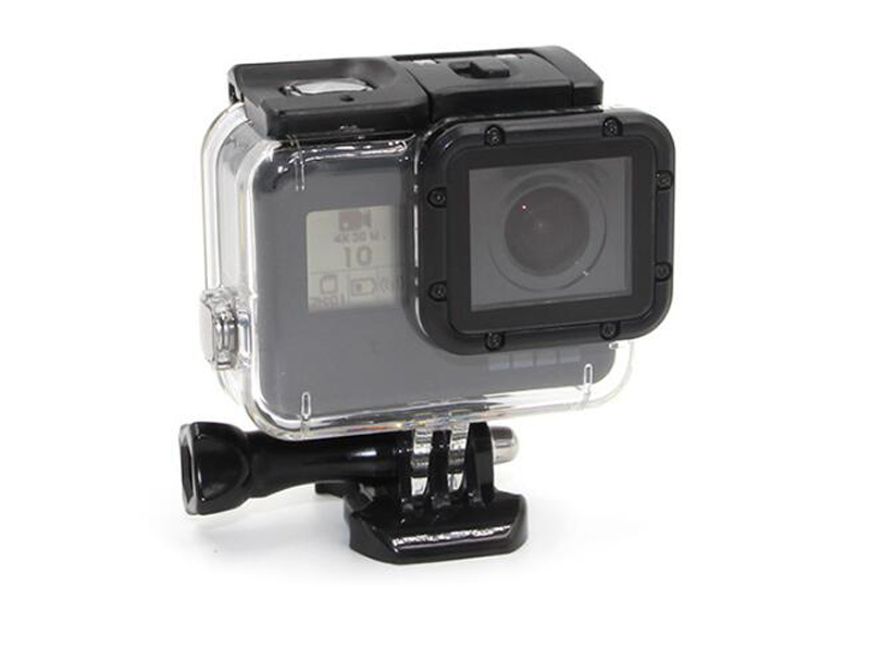 Gopro hero5 waterproof cover diving 45 meters protective shell cover protection cap gopro5 accessories <br><br>Aliexpress
