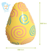 Inflatable Easter Eggs 6pcs/set Swimming Float Inflatable Water Toys Pool Beach Fun Boia De Piscinas