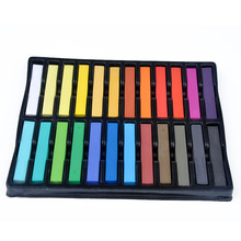 6/12/24/36 pieces/set Hair Chalks Multi-color Temporary Party Special Makeup Hair Color Hair Chalk Disposable Hair Extension Dye