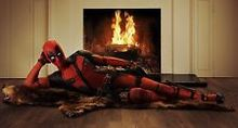 "Free shipping New Deadpool Marvel Comic Movie reprint Silk Poster Room Decor 37x20"" DED2"