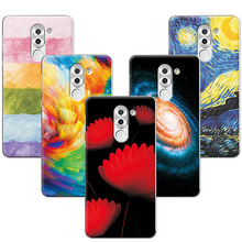 For Huawei Honor 6X Case Cover Scenery Hard PC Phone Cases For Huawei GR5 2017 Back Cover For Huawei Honor 6X 6 X 5.5""