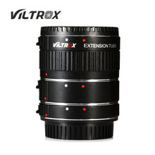 Hot sale Viltrox DG - C AF Auto Focus 12MM 20MM 36MM Metal Mount Macro Extension Tube Set for Canon EOS Series Camera(China)