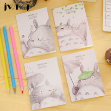1 x Cute cartoon totoro Portable Mini notebook diary cash book notepad kawaii stationery school supplies gift for kids papelaria(China)