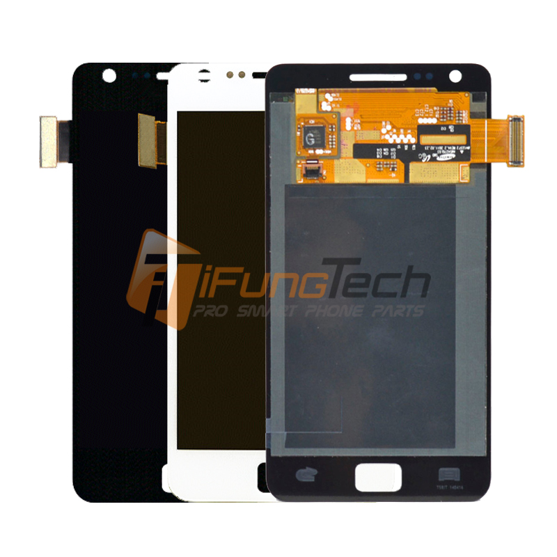 100% Working Well Replacement LCD for Samsung Galaxy S2 I9100 LCD Touch Screen Display with Digitizer Glass Assembly Replace<br>