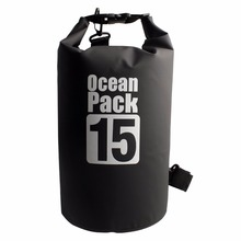 15L/20L Outdoor Dry Bag, Waterproof Bag Sack Ocean Pack for Diving Camping Hiking Rafting Swimming Snowboarding and Fishing(China)