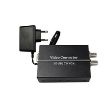 SDI TO VGA sdi (SD-SDI/HD-SDI/3G-SDI) BNC video Converter with power adapter (us or uk or au or eu)