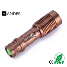 2017 Newest Waterproof LED Flashlight High Power 2000LM Mini Spot Lamp 5 Models Zoomable Camping Equipment Torch Flash Light