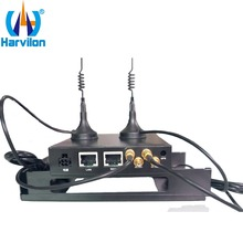 300M 4G LTE Wireless Router with 2 RJ45 Ports 3G 4G Vehicle 12V WiFi Router with SIM Slot(China)