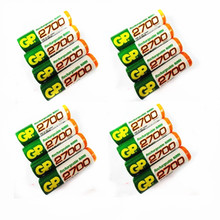 16 PCS/lot Wholesale For GP AA 1.2 V Ni-MH 2700mAh AA Rechargeable batteries' toys(China)