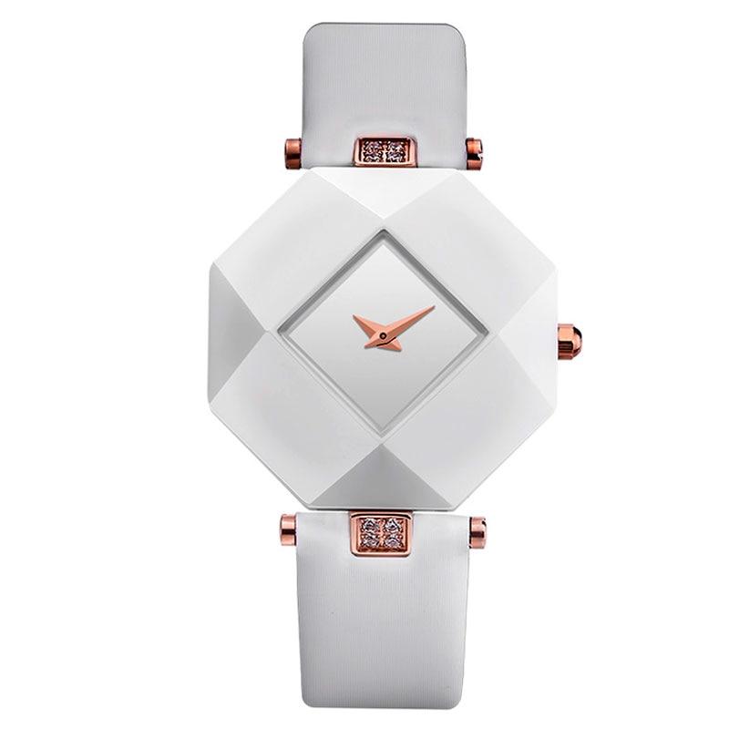 Simple Elegant Ceramic Octagon Wrist Watch Ladies Crystal Diamond Quartz Watch Women Casual Luxury Clock Gift ontre Femme<br><br>Aliexpress
