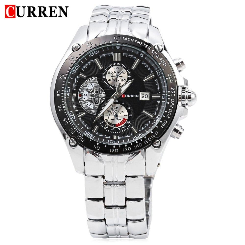 2017 New Curren 8083 Watches Men Luxury Brand Military Men Watch Full Steel Wristwatches Fashion Waterproof Relogio Masculino<br><br>Aliexpress