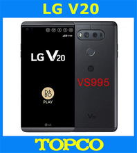 "LG V20 VS995 Verizon Original Unlocked LTE Android Mobile Phone Quad Core 5.7"" Dual 16MP RAM 4GB ROM 64GB Dropshipping(China)"