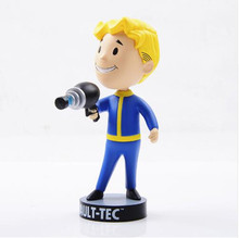 "Wholesale 5pcs/lot fallout 4 5"" vault boy bobblehead figure complete series 1 7-pack set fallout figure best gift fallout"
