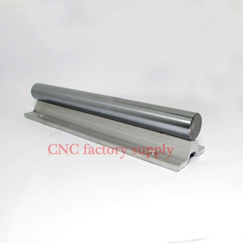 Free shipping SBR20 20mm rail L400mm linear guide SBR20-400mm cnc router part linear rail<br>