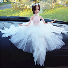1pcs Movable Joint Body Princess Babe Doll 30cm Wedding Design Dress Suite Kids Toy Brinquedo Girl Gift 022003