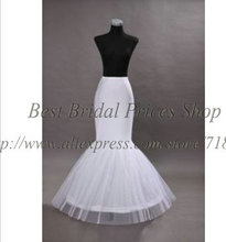 2014 hot selling white bridal petticoat wedding dress accessories free shipping