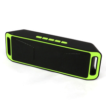Top Deals Mini Wireless Bluetooth Speaker USB FM Radio Stereo Super Bass MP3 Player Green/Grey/Blue/Red/Orange(China)