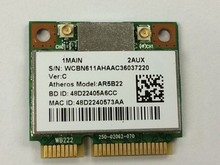 Atheros AR9462 AR5B22 WB222 Half Mini PCIe 300M+ Bluetooth4.0 WLAN Wifi Wireless Card